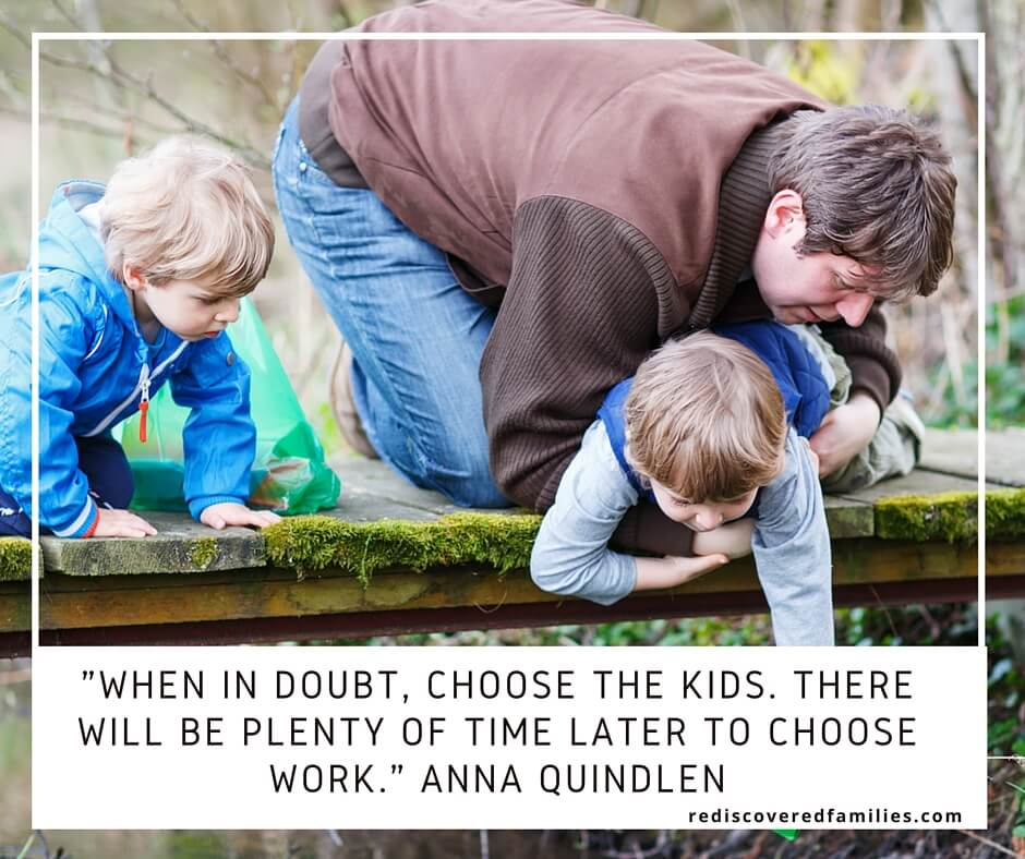 One Simple Tip That Will Guarantee Quality Time With Your Kids