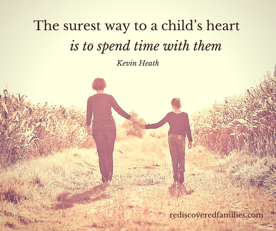 All your kids really want to do is to spend time with you. Stop trying to measure up to everything you see on Pinterest and go do something fun with your kids instead. It's a lot simpler and your family will thank you for it!""