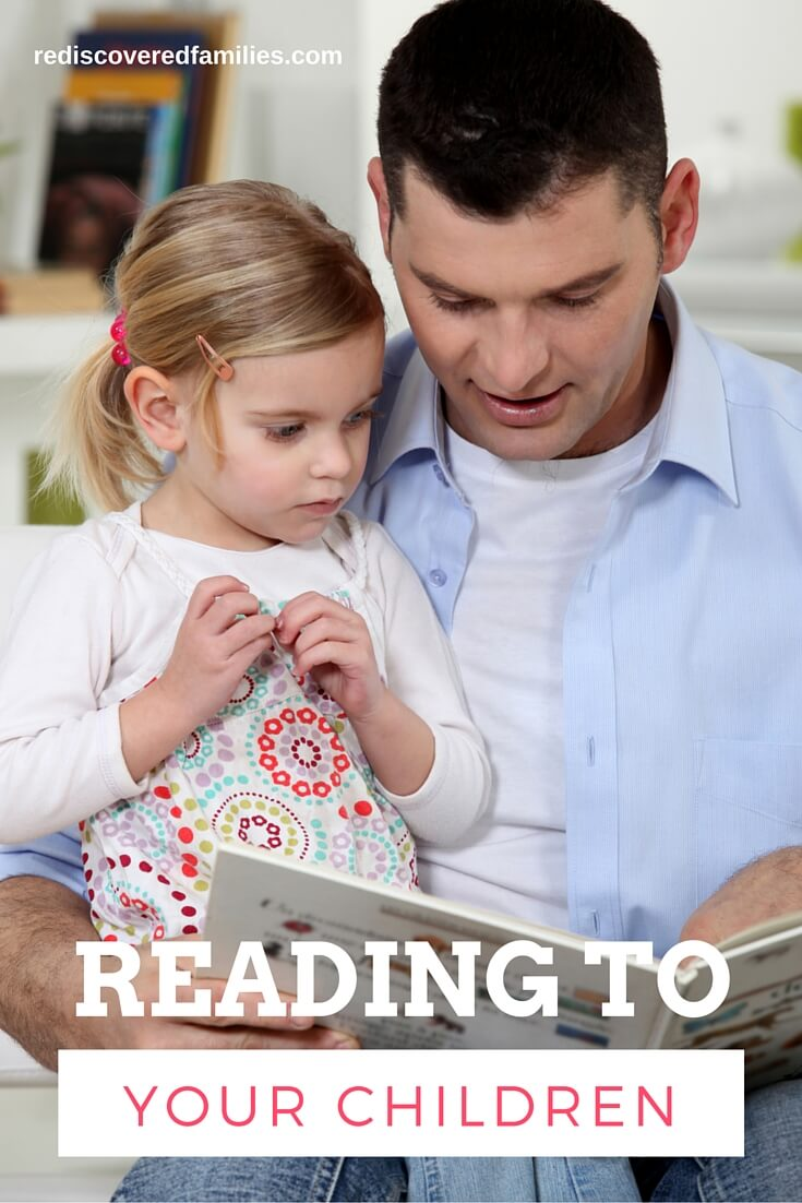 Enjoy some special time as you read with your children. It gives you a chance to close off the rest of the world and build connections. Reading with your children - tips for all ages.