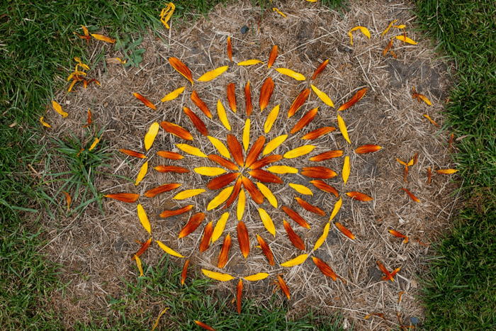 how to create epic land art with your kids