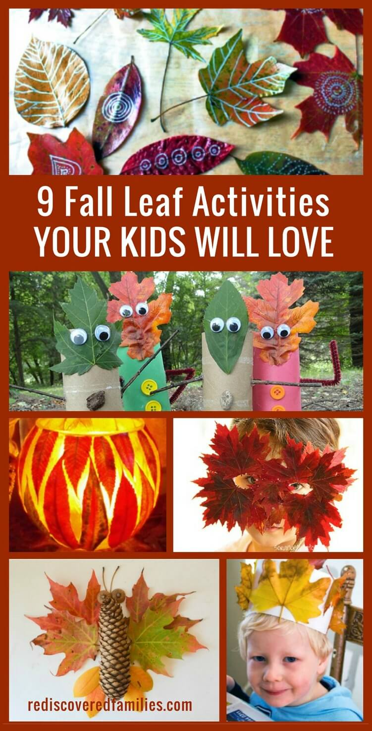 9 Fall Leaf Activities Your Kids Will Love
