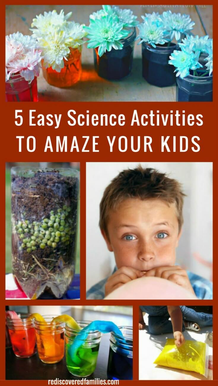 5 Easy Science Activities