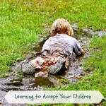 kid in the mud