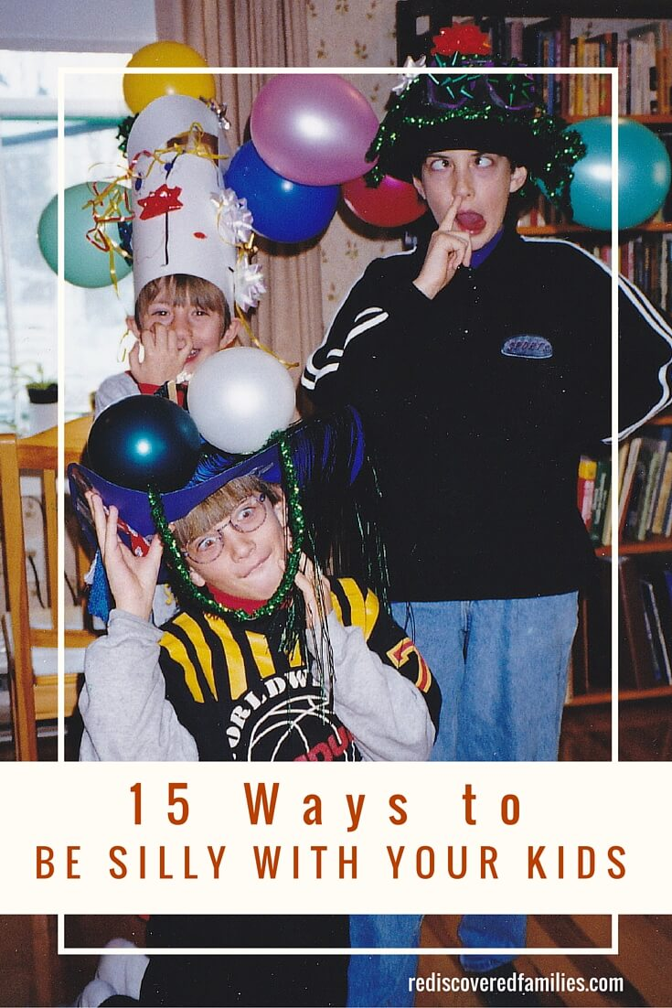 When was the last time you had a good belly laugh with your kids? I love these ideas for ways to be silly with your kids. Inject some fun into your relationships. Kids love it when adults are silly with them.