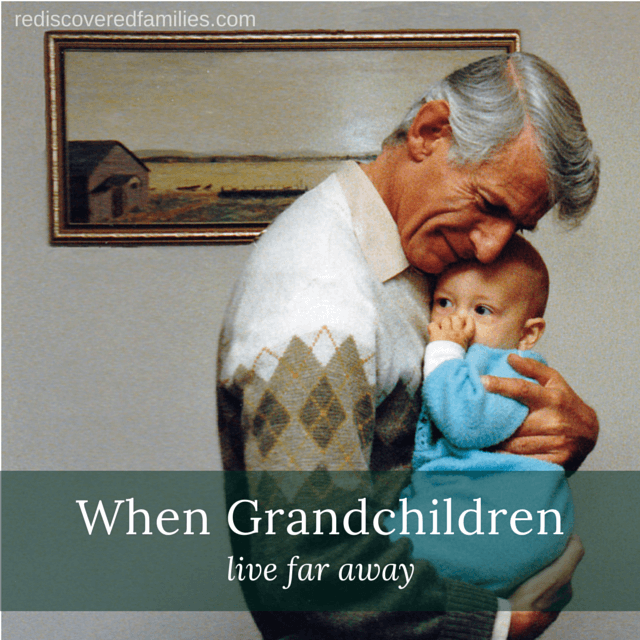 In an ideal world all grandparents would live close to their grandkids. As this is not always possible I have gathered 7 ideas to help grandparents build those special connections, even when they live in opposite corners of the world.