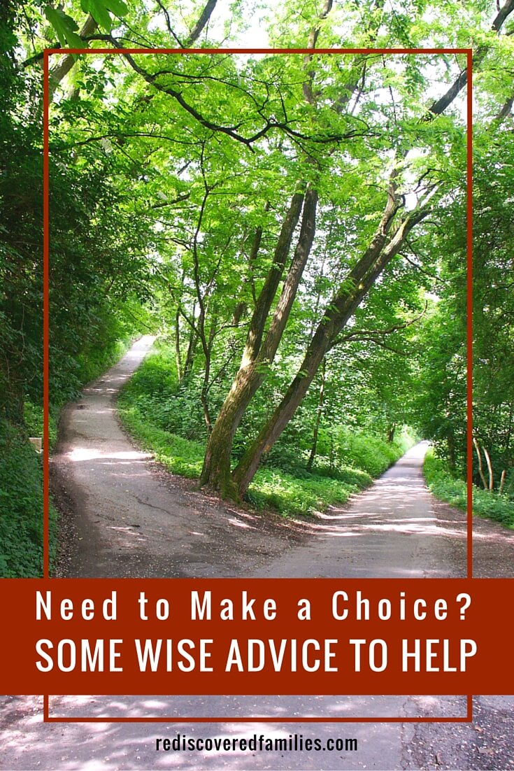 As parents we are constantly making choices. Do you ever find yourself wondering which choice to make? Click through to read some wise advice from 5 different writers.
