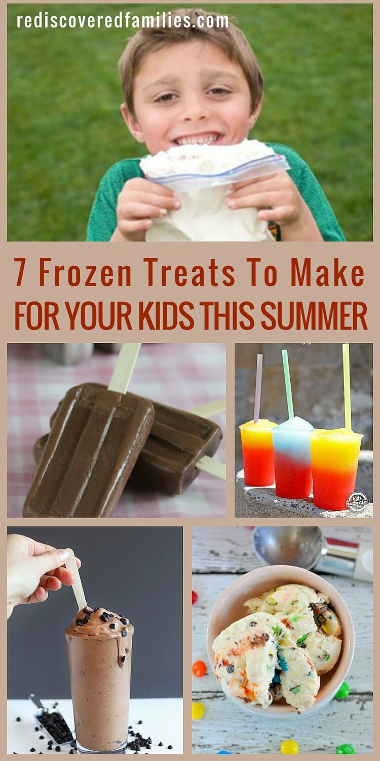 If you like it cold, you'll love these frozen treat recipes. We have recipes for ice cream, popsicles, and fudgesicles. There is something for everyone, including dairy free and vegan options. The hardest part might just be waiting for them to freeze.