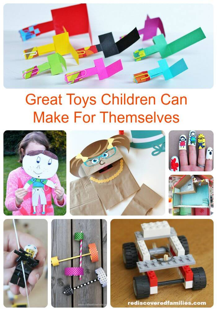 Really Cool Toys For Kids To Make Themselves