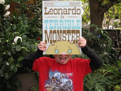 "Having Fun With ""Leonardo the Terrible Monster."""