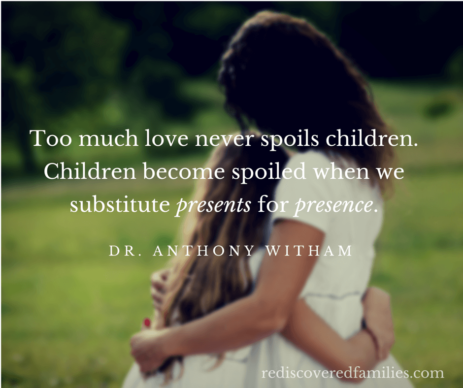 Are you worried about spoiling your children? Maybe all it takes is a change of focus. The answer is simpler than you think. Your children will thank you.