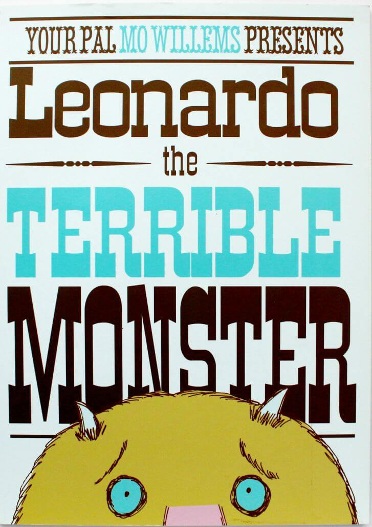 """Enjoy some """"Leonardo the Terrible Monster"""" activities, crafts and play. This popular book by Mo Williams is a huge hit with children."""