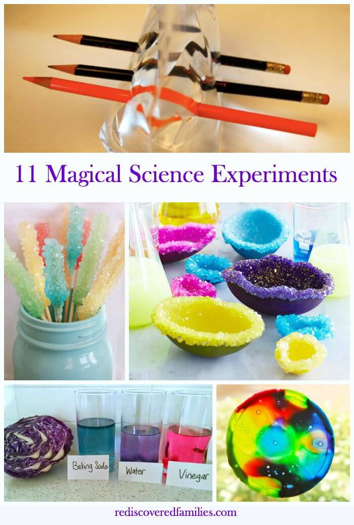 11 Maigical Science Experiments