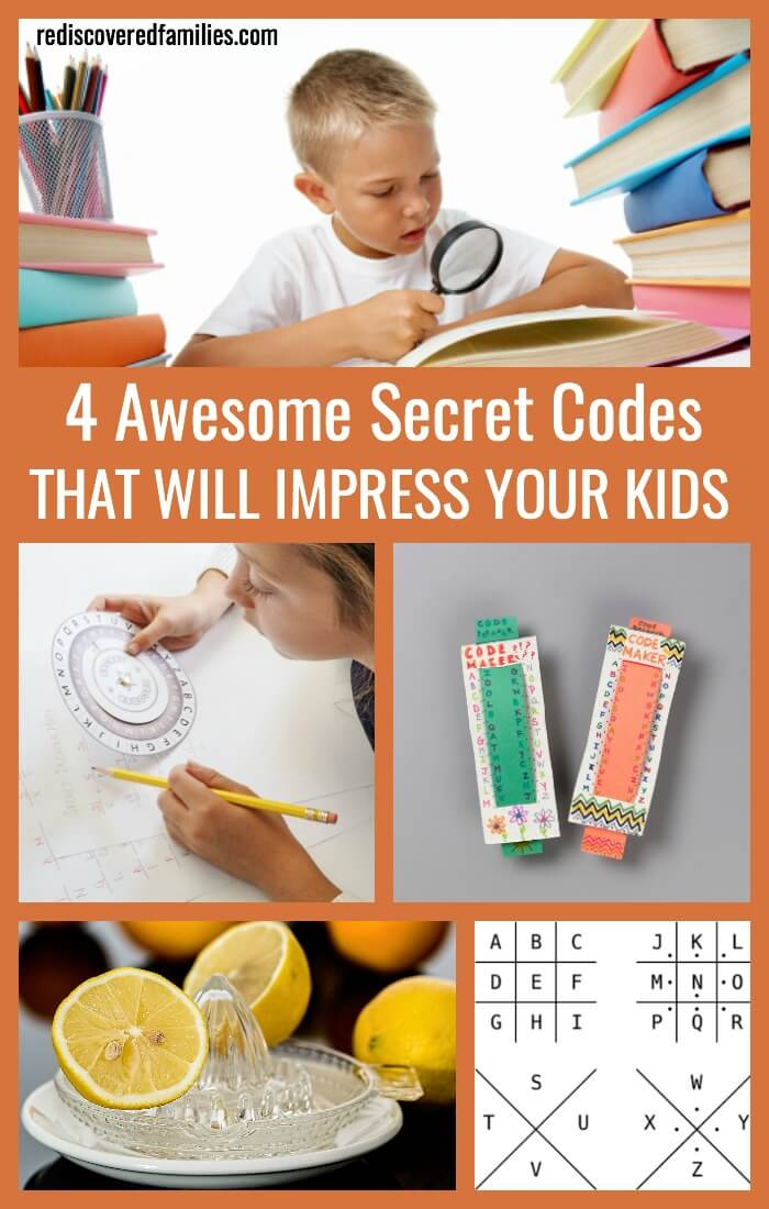 4 Awesome Secret Codes That Will Impress Your Kids