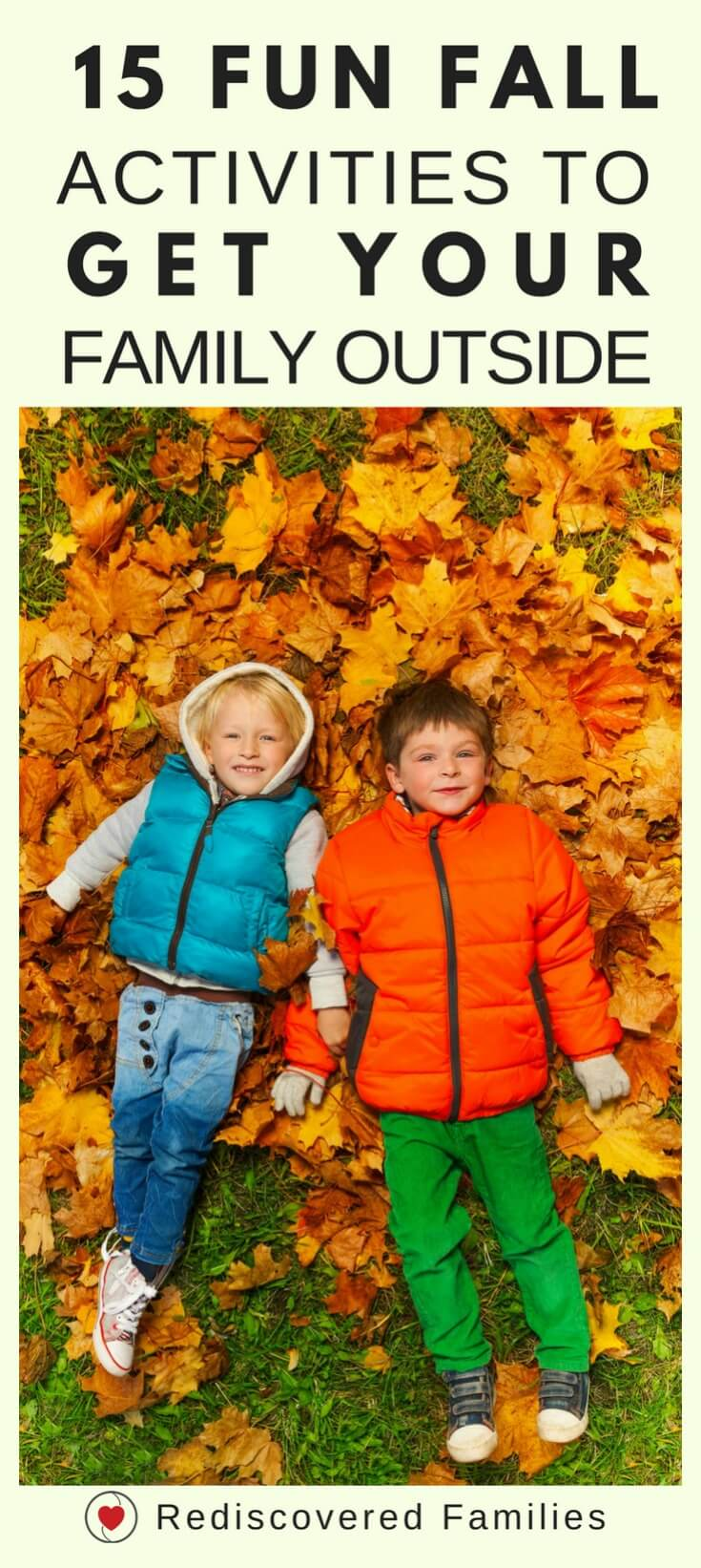 15 Fun And Easy Sewing Projects For Kids: 15 Fun Fall Activities To Get You Outside