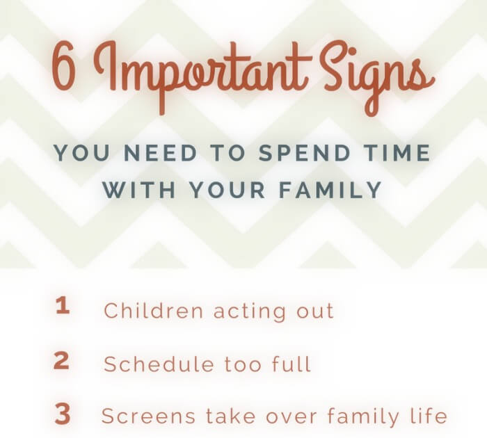 the importance of spending time with family It's about time that we made real life family time more important than spending time importance of family time family the importance of family time.