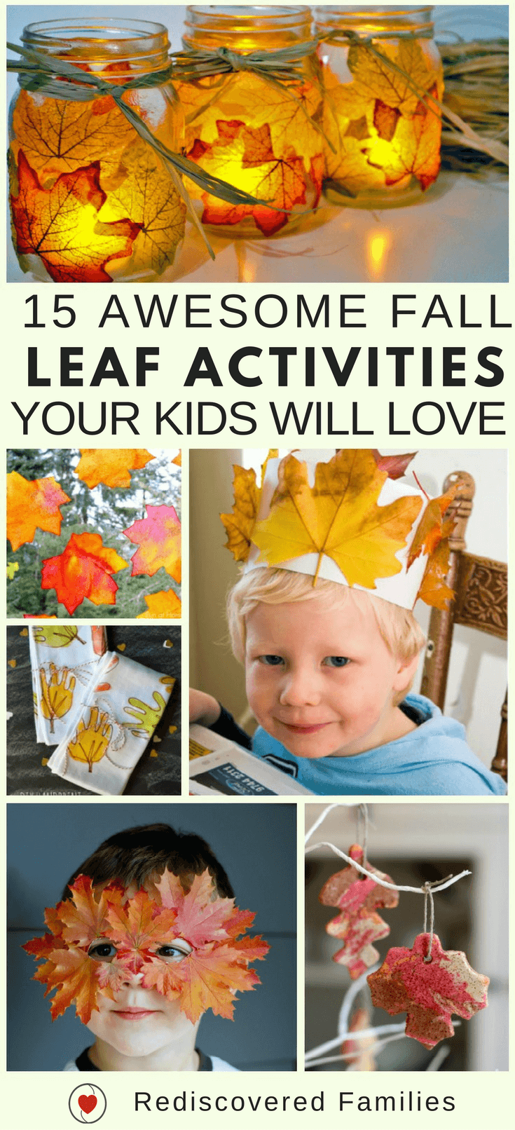 fall crafts for kids 15 awesome fall leaf activities and crafts your will 4414