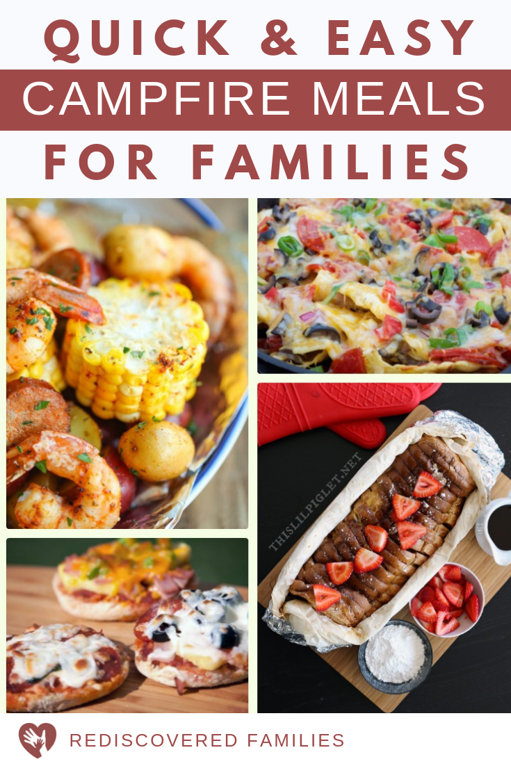 Easy campfire meals for families