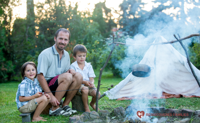 kid friendly campfire dinners