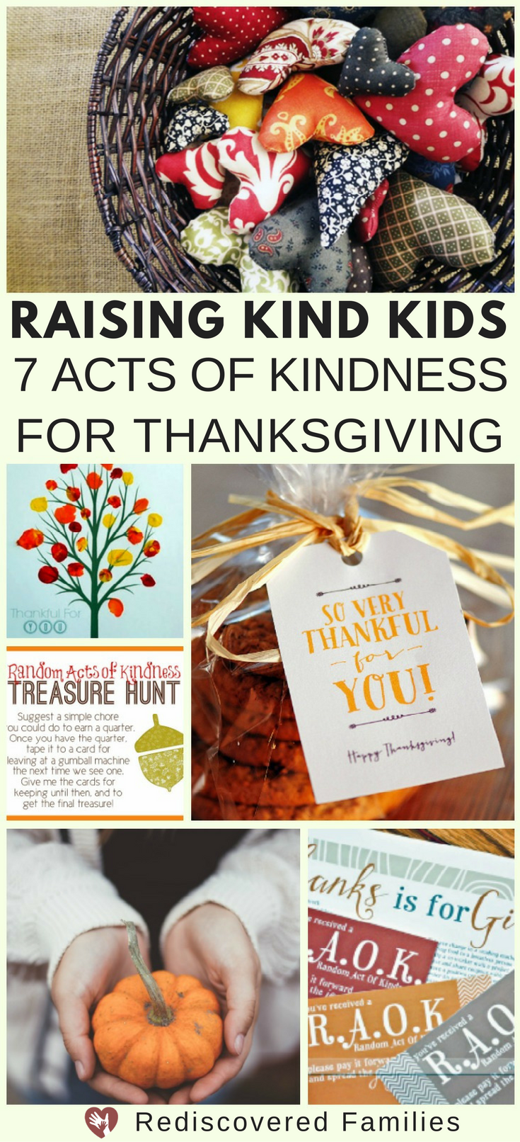 Acts of Kindness for Thanksgving