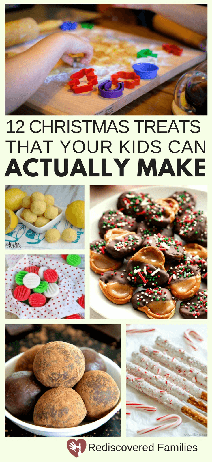 12 Easy Step By Step Natural Eye Make Up Tutorials For: 12 Easy Christmas Treats That Your Kids Can Actually Make
