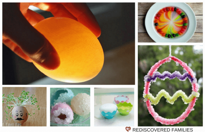 Easter Science Activities For Kids Collage