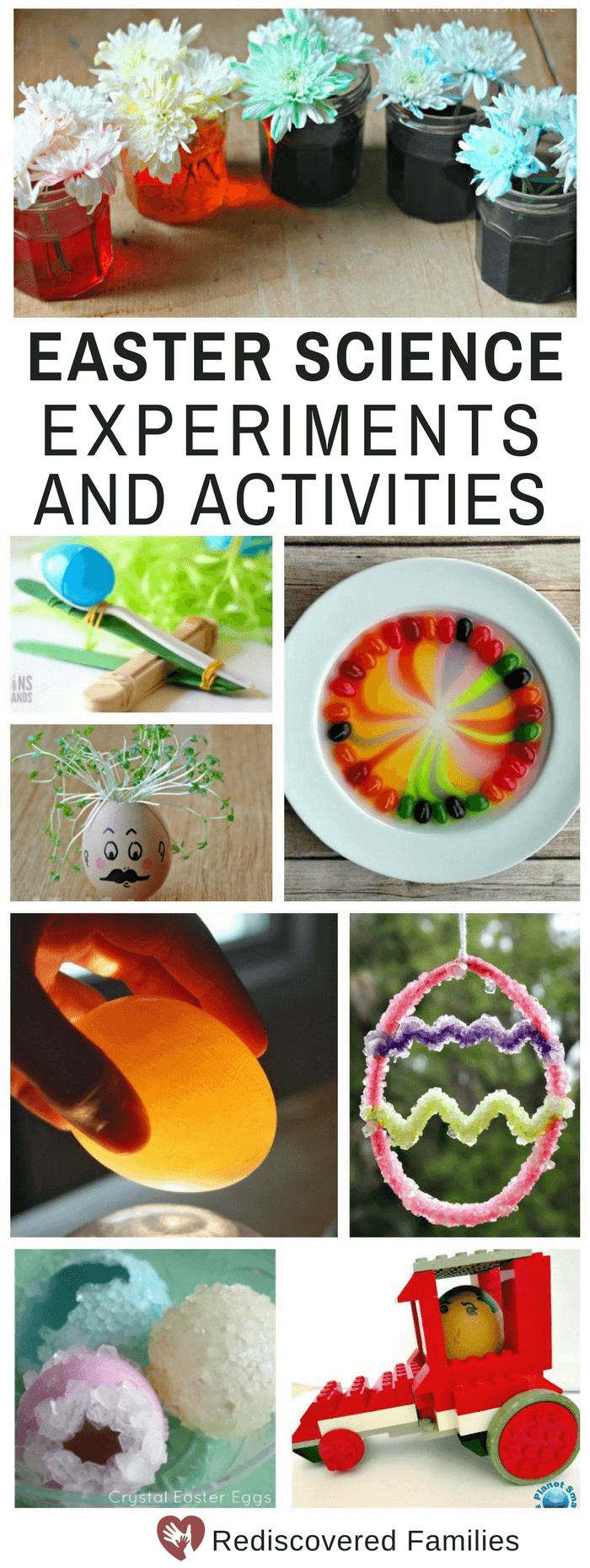Easter Science Activities For Kids Pin Collage