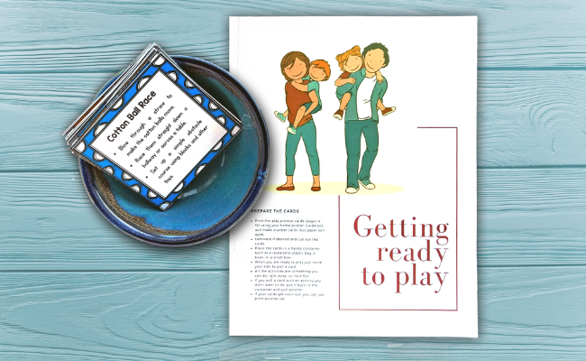 Play Activity Cards To Help You Spend time With Family