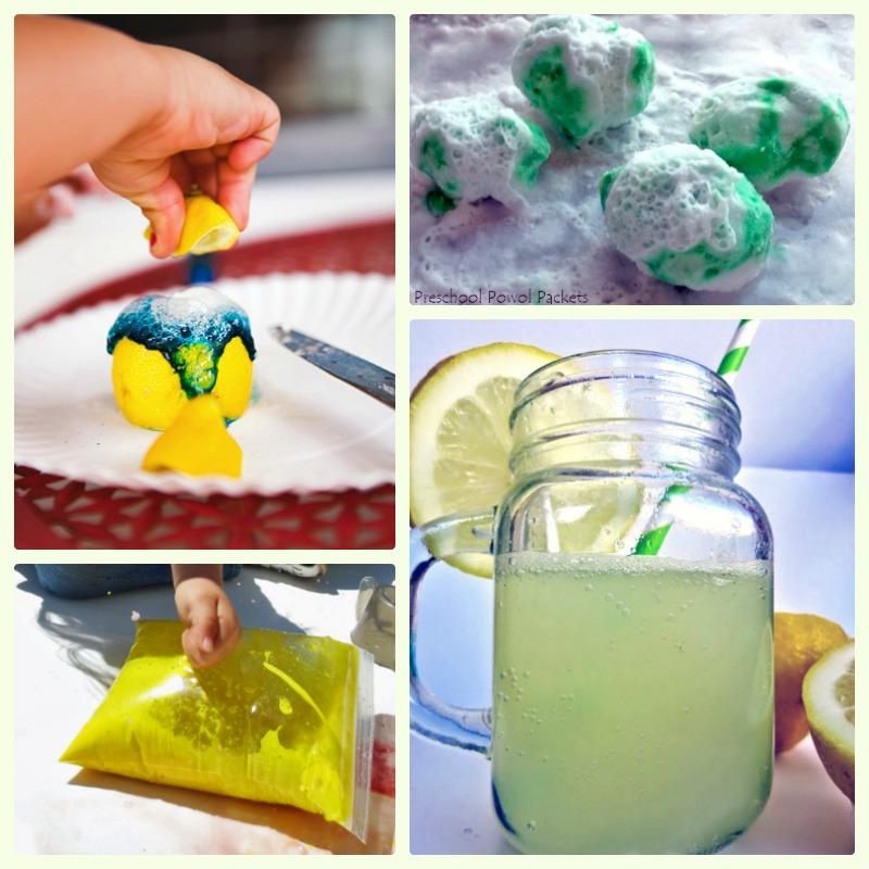 Baking soda experiments