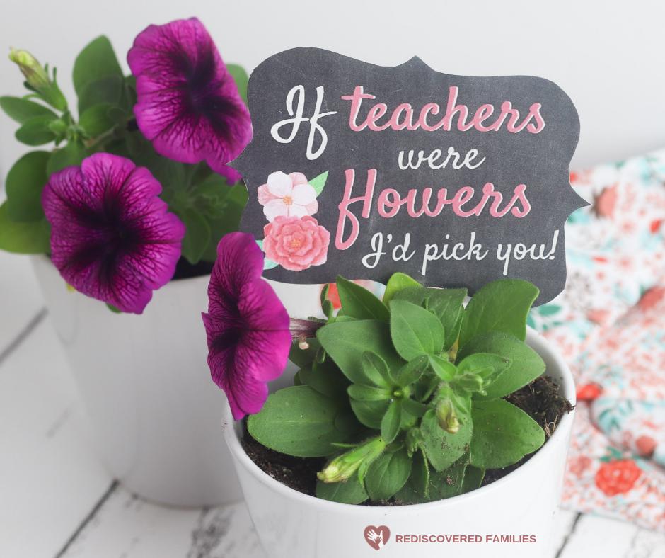 Homemade Teacher's Gift