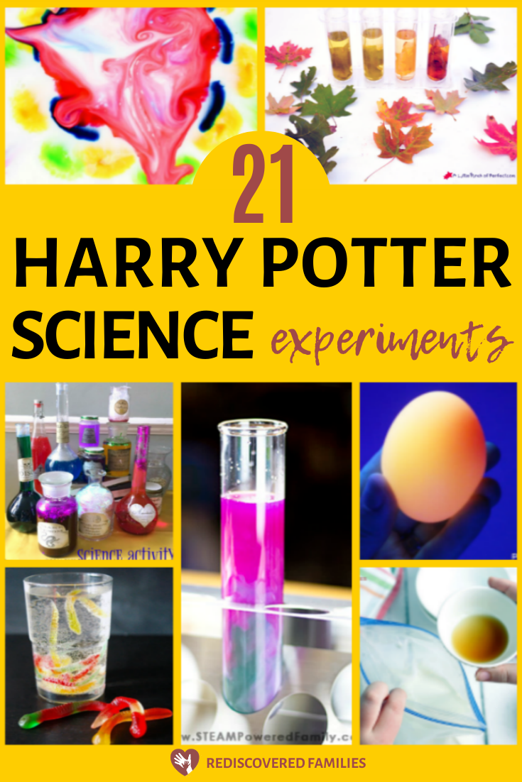 21 Awesome Harry Potter Science Experiments To Try With Your Kids