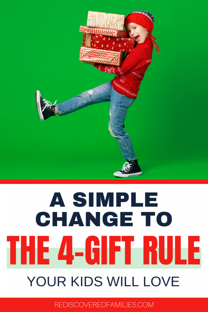 The 4- gift rule for Christmas