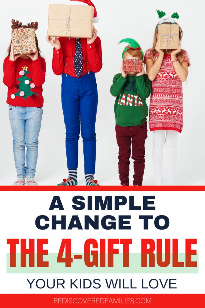 4 gift rule printable