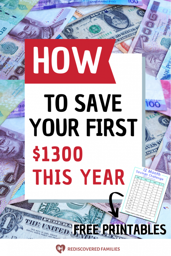 monthly saving challenge