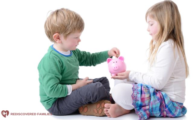 teaching kids to save